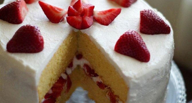 pastel de tamaño fijo