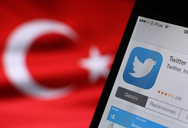 Illustration Twitter in der Türkei