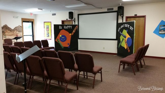 Cave Quest VBS: Decorating Spaces - Rockin' Tunes - BorrowedBlessings.net