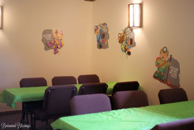 Cave Quest VBS: Decorating Spaces - Memory Gems - BorrowedBlessings.net