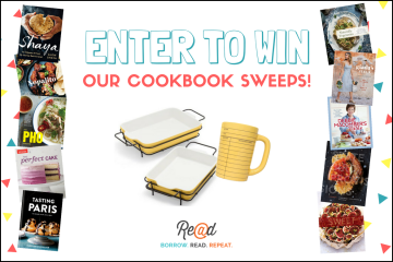 Enter to Win Our Delicious Cookbook Sweeps!