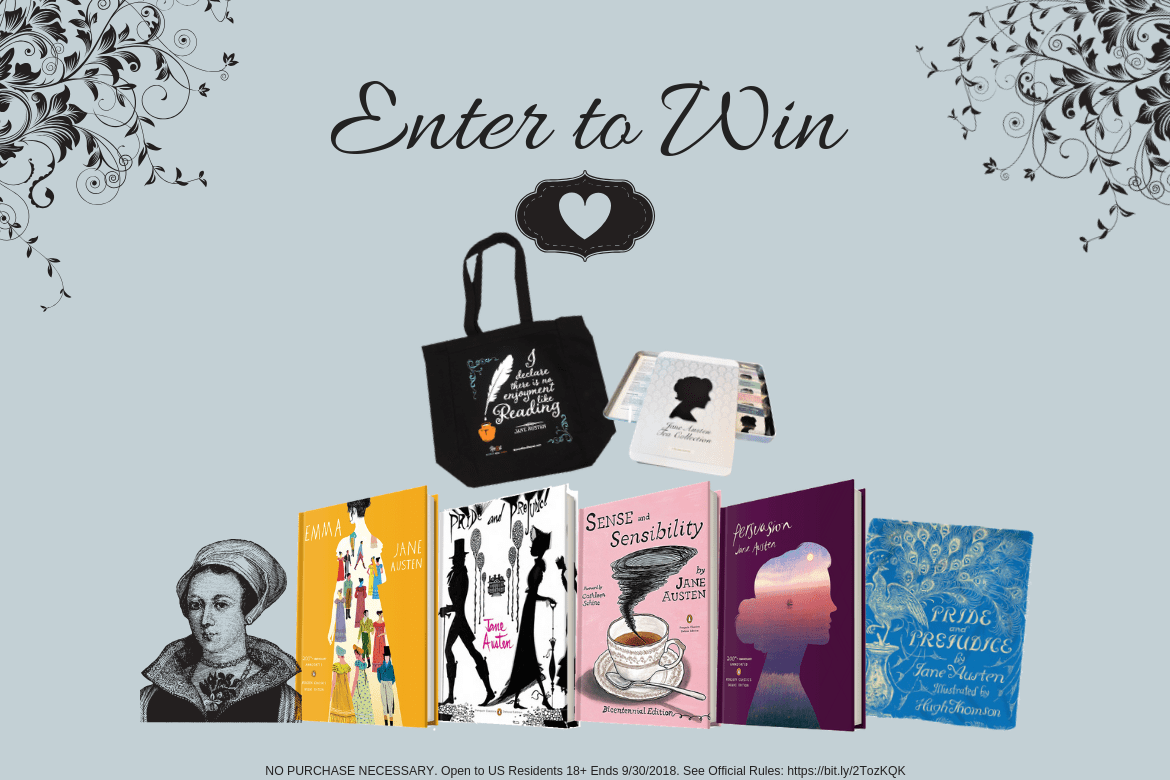 Enter Our Cozy Up with Jane Austen Sweepstakes!