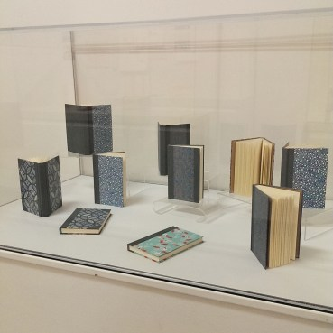my work from Bookbinding II on display