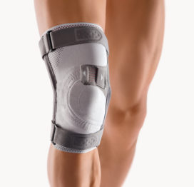 BORT Asymmetric® Plus, Patella Stabilizing Support with Hinges-0