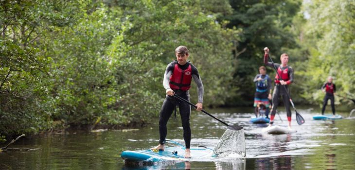 Stand up paddle boarding in Ireland