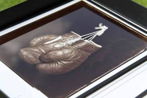 Of of the carbon prints I've sold. Courtesy of Alex Timmermans