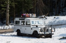 Land Rover 109, station wagon, made in 1972. Photo Borut Peterlin