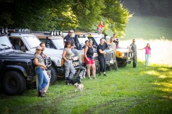 Land Rover tour de Gorjanci