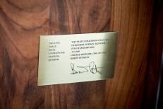 gravure with signature