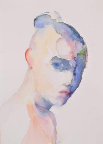 """Head of a girl 1 23 x 32.5 cm / 9"""" x 13"""" €180"""
