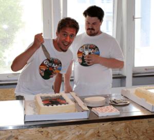 Borzag-Games-slaying-Garden-Gnomes_Wizard-Warfare-cake