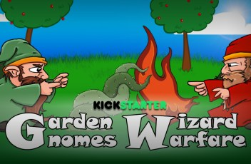 Garden Gnomes: Wizard Warfare on kickstarter