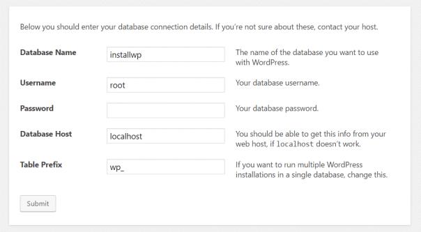 installer blog WordPress