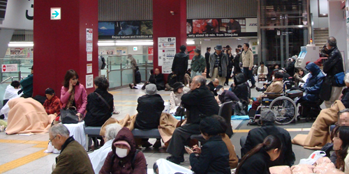 2011_Sendai_earthquake_Shinjuku_Station