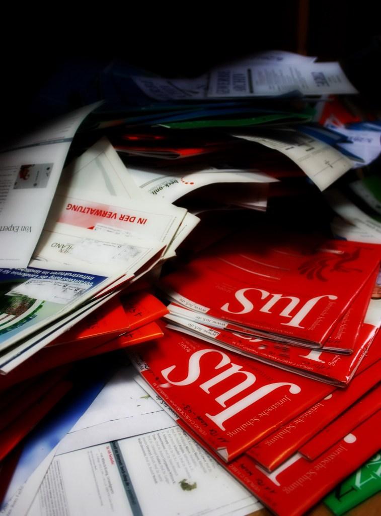 Fachzeitschriften zum einbinden