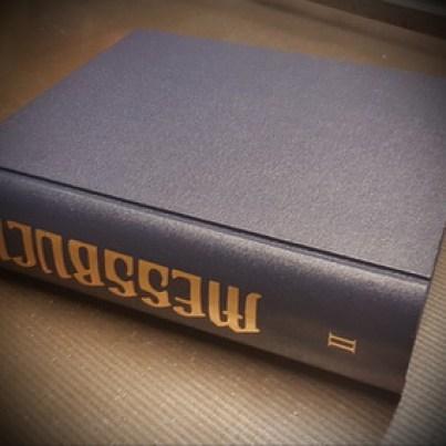 Messbuch - mit neuer Einbanddecke / Rückenprägung