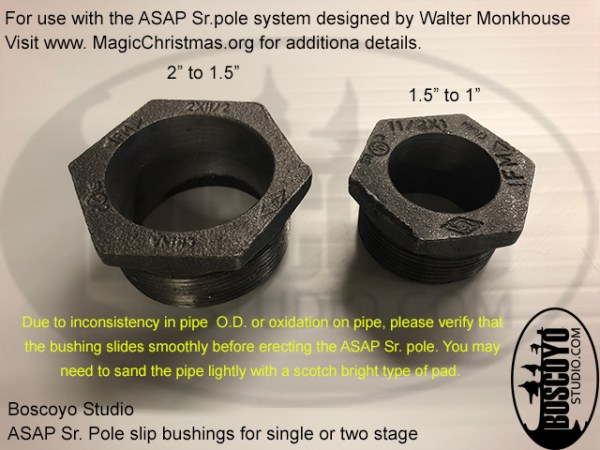 ASAP Sr. Pole Slip Bushing 1.5""