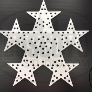 Star Wreath 3 ring