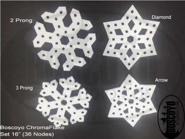 """ChromaFlakes 16"""" (set)"""