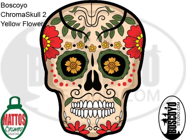 DayCor™ HiRes ChromaSkull 2 Yellow Flowers
