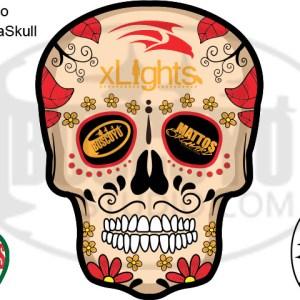 DayCor™ HiRes ChromaSkull Logo