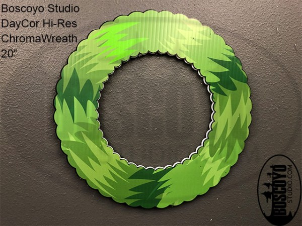 "DayCor™ HiRes ChromaWreath 20"""