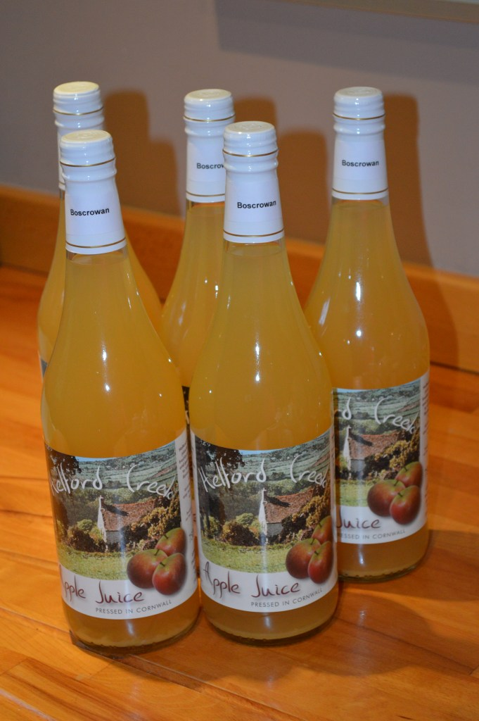 Boscrowan apple juice
