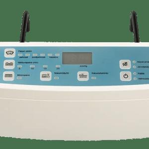 Anti decubitus air mattress pressure monitoring pump