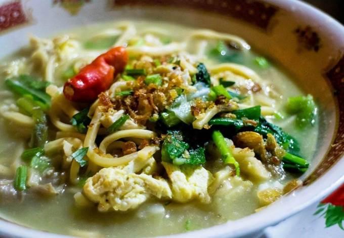 Makanan Khas Jogja Bakmi Jowo
