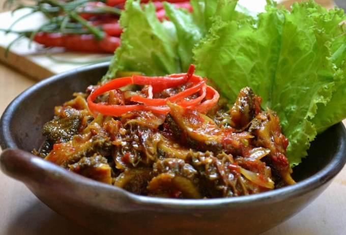 Nama Makanan Khas Semarang Jawa Tengah Babat Gongso Pak Karmin