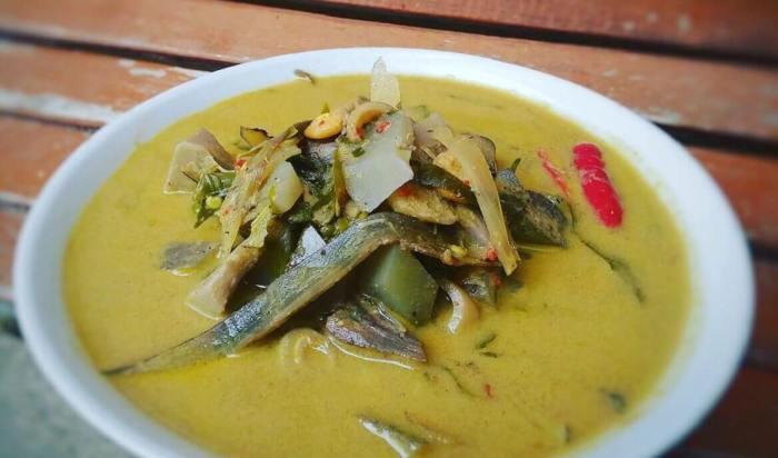 Makanan Khas Aceh Kuah Pliek U