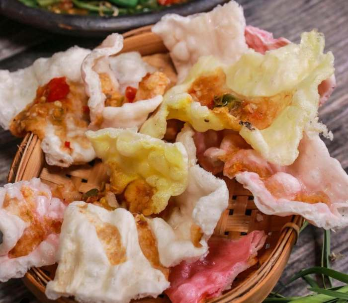 Makanan Khas Cirebon Kerupuk Melarat