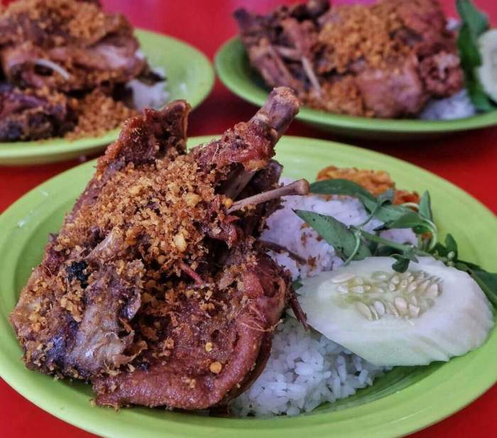 Makanan Khas Madura Bebek Sinjay