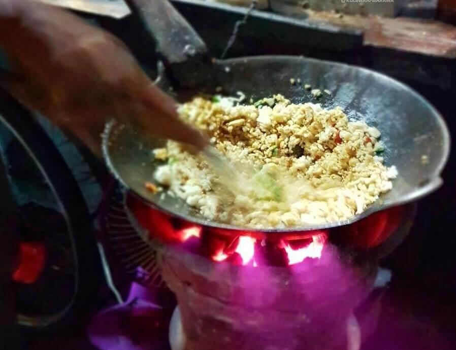 Makanan Khas Kediri Nasi Goreng Arang