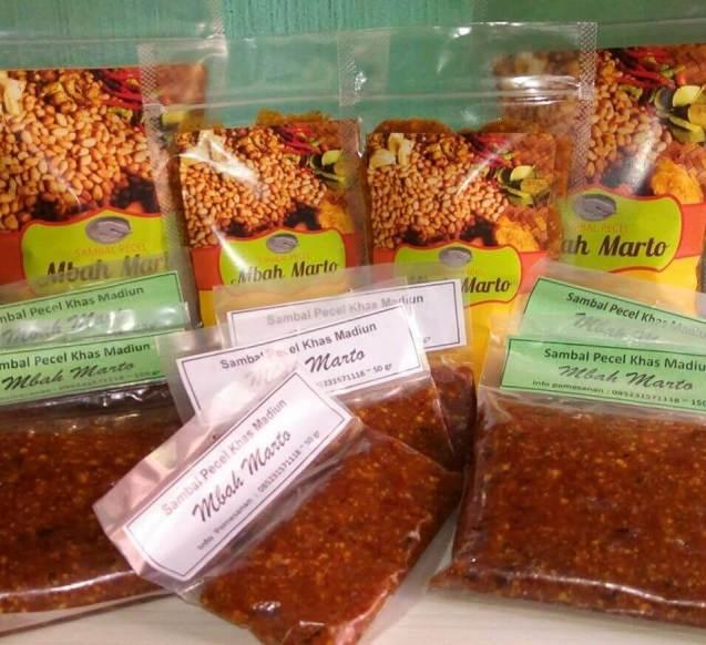 Makanan Khas Madiun Sambel Pecel