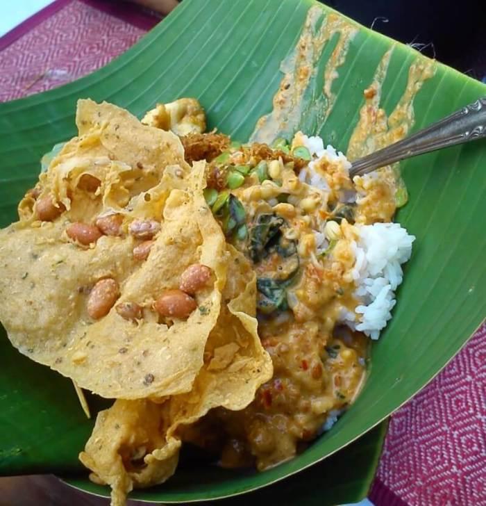 Kuliner Makanan Khas Malang Batu Nasi Pecel