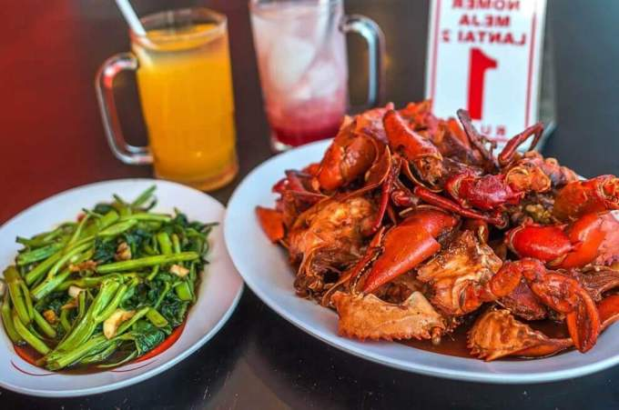 Makanan Khas Surabaya Jawa Timur Kepiting Cak Gundul 1992