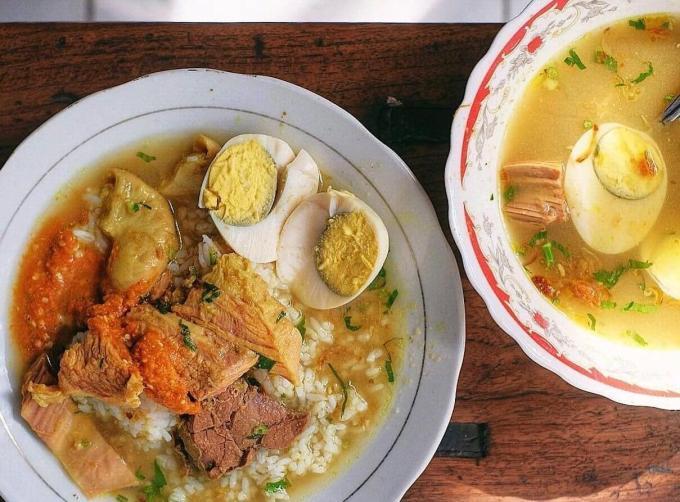 Oleh oleh Makanan Khas Surabaya Jawa Timur Soto Gubeg Pojok