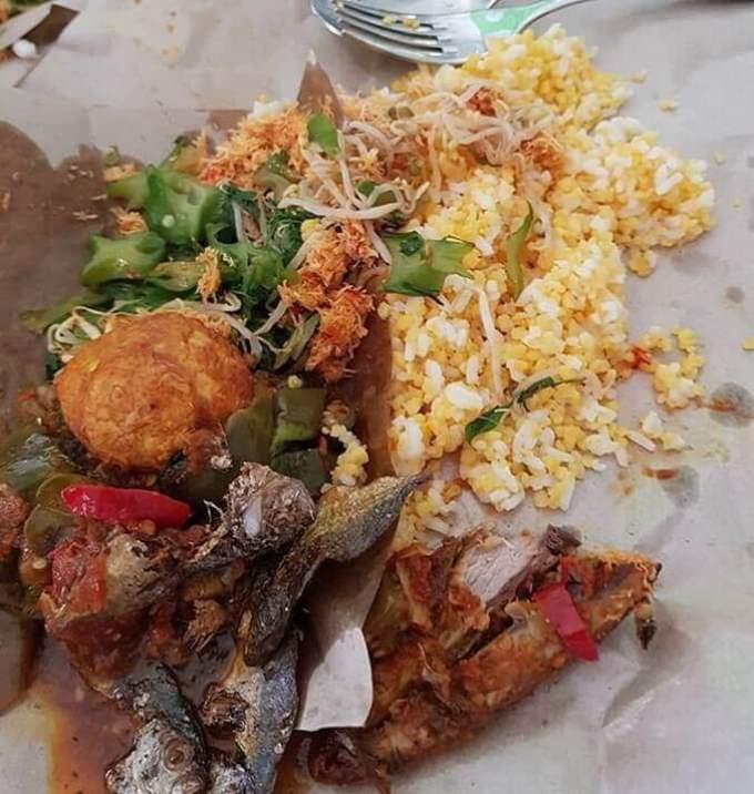 Makanan Khas Madura Nasi Jagung Ampok