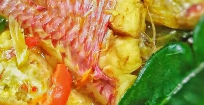 Makanan Khas Maluku Utara Ikan Kuah Kuning
