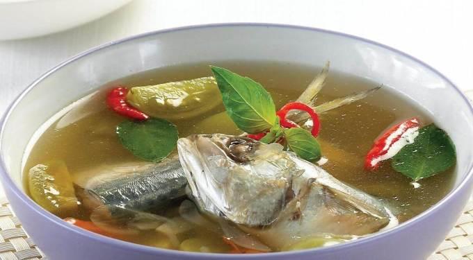 Makanan Khas Manado Ikan Kuah Asam