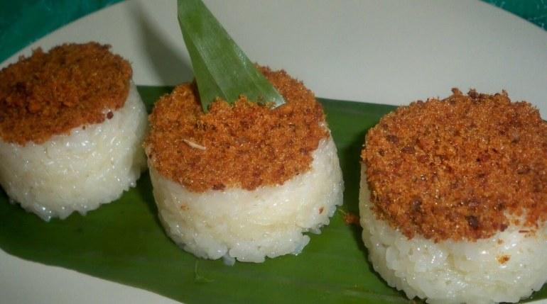 Makanan Khas Banten Ketan Bintul