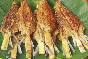 Makanan Khas Banten Sate Bandeng
