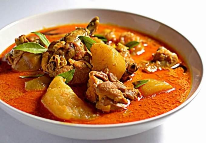 Makanan Khas Jambi Gulai Terjun