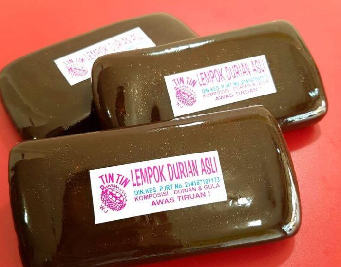 Nama Makanan Khas Melayu Lempok Durian