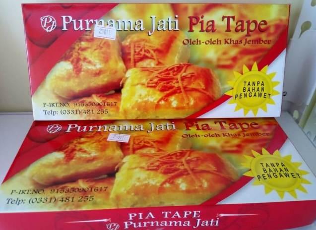 Makanan Khas Jember Pia Tape