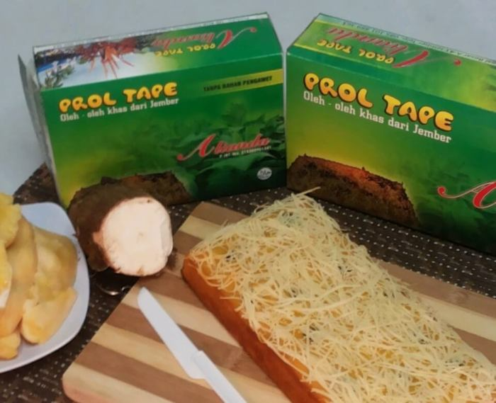 Makanan Khas Jember Prol Tape