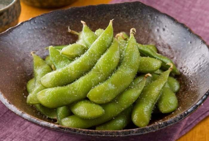 Nama Makanan Khas Jepang Edamame