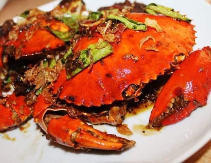 Nama Makanan Khas Kalimantan Utara Kepiting Soka