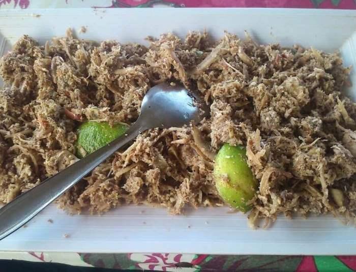 Makanan Khas Kalimantan Utara Lawa